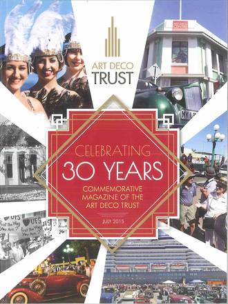 Art Deco Trust 30 Year Commemorative Magazine