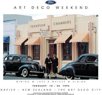 1994 Art Deco Weekend - Poster