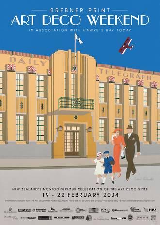 2004 Art Deco Weekend Poster