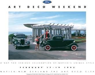 1995 Art Deco Weekend Poster
