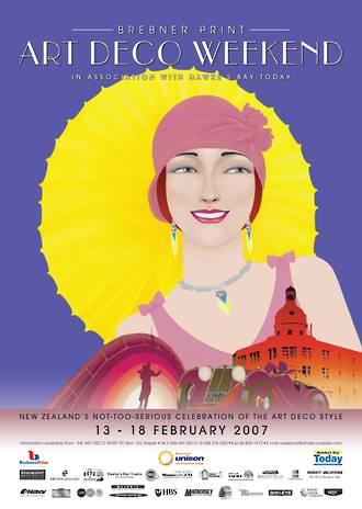 2007 Art Deco Weekend Poster
