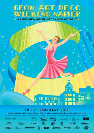 2010 Art Deco Weekend Poster