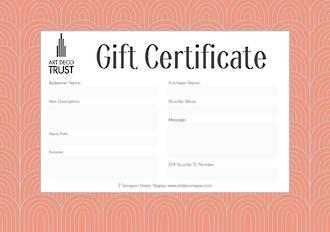 Art Deco Centre $100 Gift Voucher