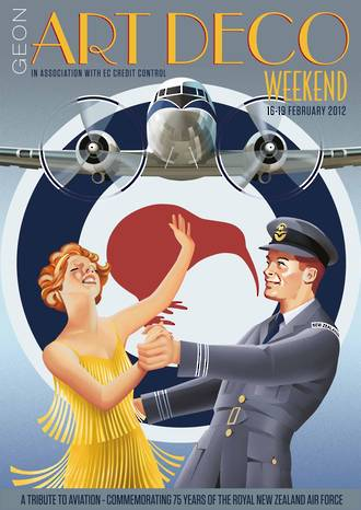 2012 Art Deco Weekend Poster