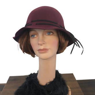 Ellie Hat - Wine