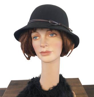 Felt Hat - Noir