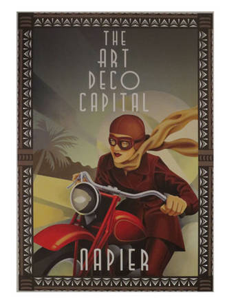 Motorbike Rider Poster