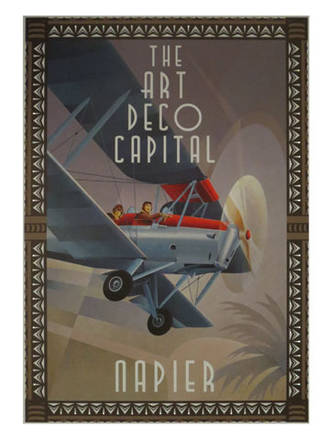 Bi Plane Poster