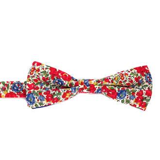 Bow Tie - Red Garden
