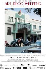 2001 Art Deco Weekend Poster