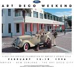1996 Art Deco Weekend Poster