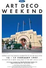 1997 Art Deco Weekend Poster