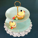 2 Tier High Tea Plate