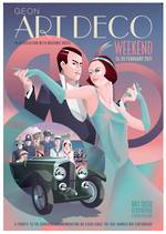 2011 Art Deco Weekend Poster