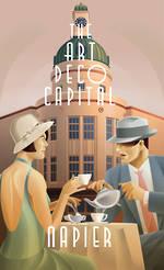 Cafe Scene Poster