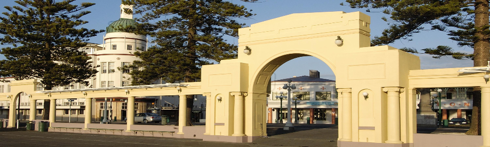 Art Deco Napier New Napier Arch-260
