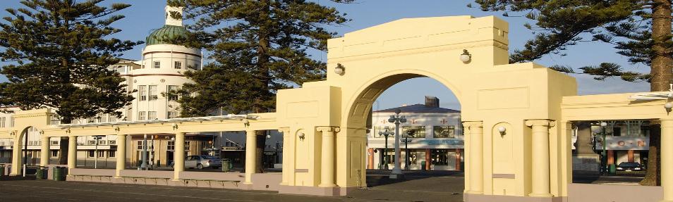 Art Deco Napier New Napier Arch-260
