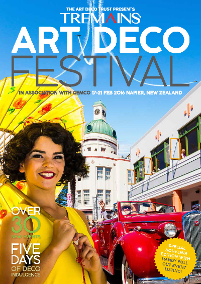 Tremains Art Deco Festival 2016 Programme