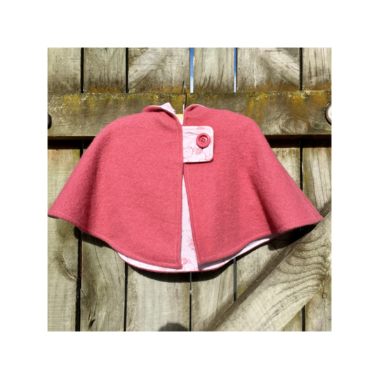 Pink Cape Size 2