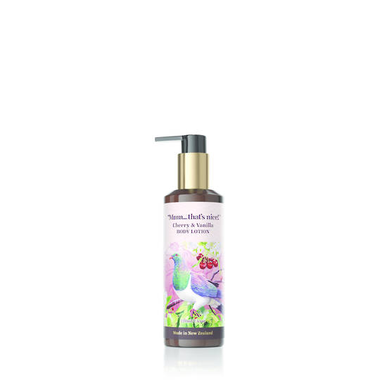 CHERRY & VANILLA BODY LOTION