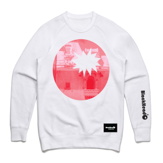 Bombay Red White HW Crew Sweat