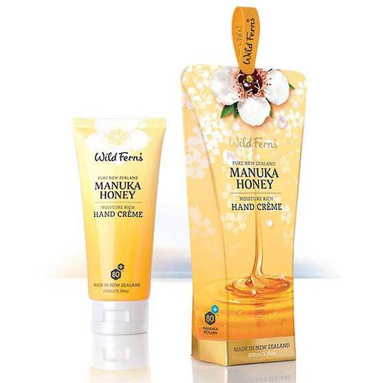 Wild Ferns Manuka Honey Hand Creme