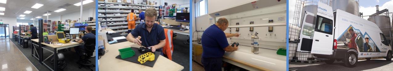 Gas Detection Service and Calibration APC Techsafe