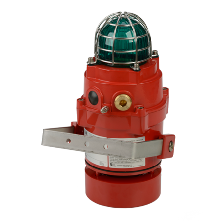 BExCS110-L2 Omni-directional Alarm Horn & LED Beacon