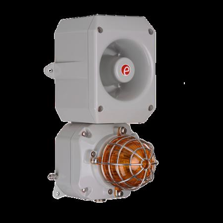 D2xC2LD2 Alarm Horn & LED Beacon