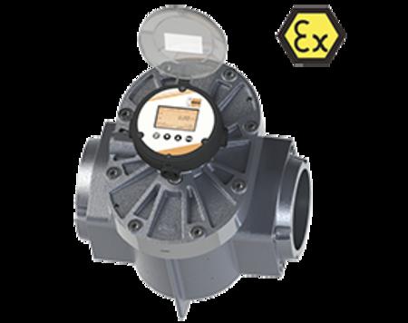 Oval Wheel Flowmeter DON-...LCD