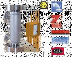 Full Metal Variable Area Flowmeter / counter BGN - High Pressure
