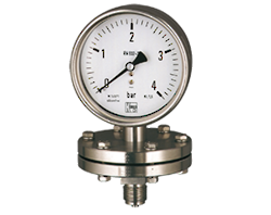 Diaphragm Pressure Gauges MAN-P