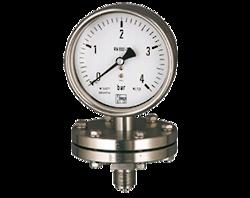 Diaphragm Pressure Gauges MAN-P