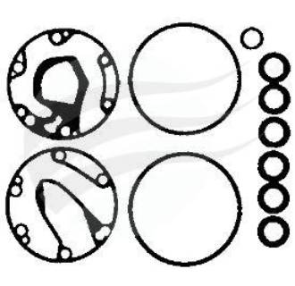 GASKET SET DKS15 BH MODEL (CP8818)