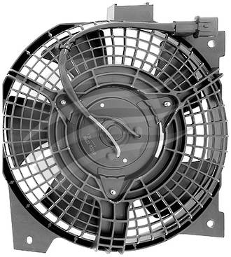 FAN ASSEMBLY CONDENSER RODEO RA03 03> ALL ENGINES, COLORADO 03-