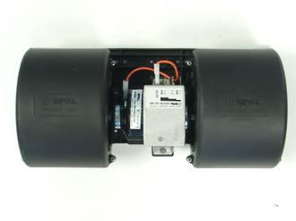 BLOWER ASSEMBLY SPAL 12V 3 SPEED (EM2460)