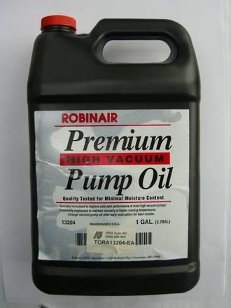 TORA13204-EA ROBINAIR PREMIUM VACUUM PUMP OIL 1GAL (3.785L)