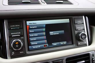 Land Rover/Range Rover GPS Navigation Japan import 2010-2012