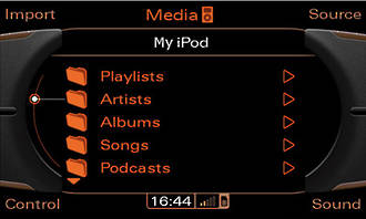 Audi AMI music interface retrofit
