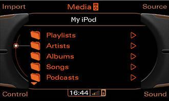 Audi MMI 2G AMI music interface w/iPod retrofit