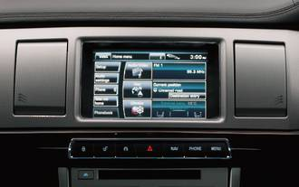 Jaguar XF/XJ/F-type GPS Navigation Japan import 2012-2015