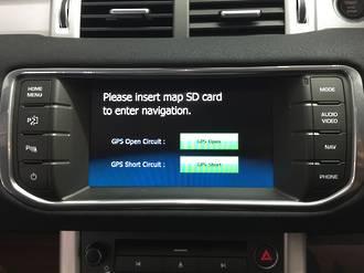 Land Rover Range Rover SD GPS Navigation UK import