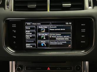 Land Rover Range Rover HDD GPS Navigation UK import