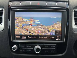 VW GPS Navigation conversion RNS850 Japan import