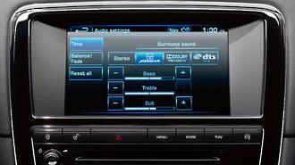 Jaguar XJ GPS Navigation UK import