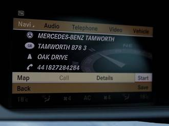 Mercedes GPS Navigation UK import NTG3.5