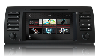 N7 - E53 - PRO, BMW GPS, Navigation, Bluetooth, iPod, DVD, USB