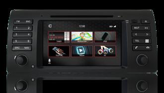 N7 - E53 - PRO, BMW GPS, Navigation, Bluetooth, iPod, DVD, USB