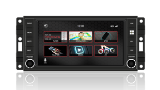 N7-JP - PRO Jeep series Touch Screen LCD Multimedia Navigation System