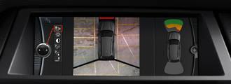 BMW top view camera retrofit